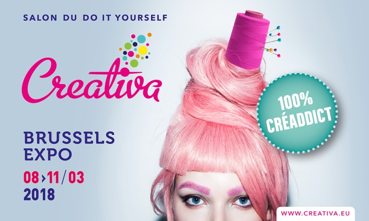 Press-kit-2-Creativa-Bruxelles-2017-Brusses-Expo-Poster-Salon-des-Loisirs-Creatifs-et-du-Do-it-Yourself